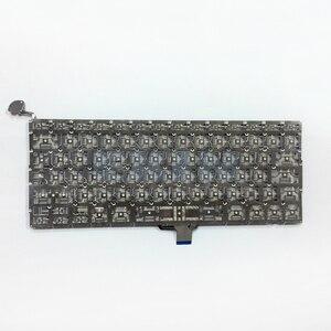 """Image 5 - OEM NUOVO per Macbook Pro 13 """"Unibody A1278 Tastiera Spagnolo Spagna SP Lingua + Retroilluminazione Retroilluminato + Viti 2009  2012 Anni"""