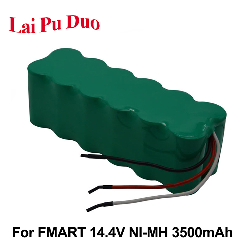 NI-MH 14.4V 3500mAh Replacement Battaery Pack For FMART FM-006 <font><b>FM008</b></font> FM010 R-760 R-830 Vacuum Cleaner Battery image
