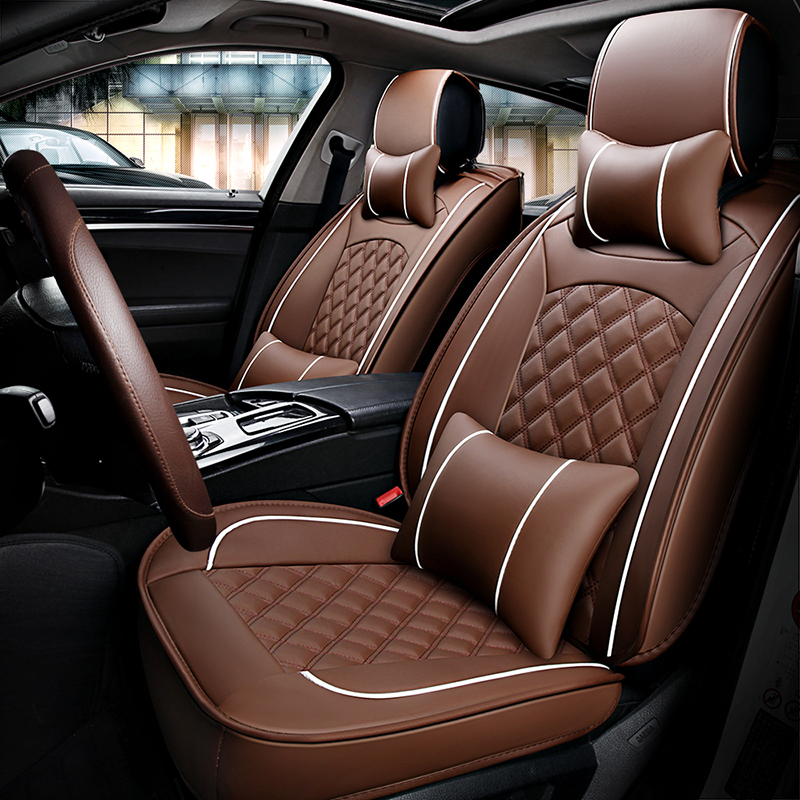 5 seats Car Seat Cover car styling fit Skoda Rapid ...