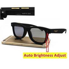 La Vie – lunettes de soleil à cristaux liquides, Design Original, luminosité Auto-réglable, verres polarisés LCD, monture Vintage, 2020