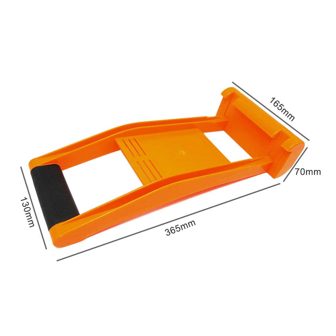Painel Ferramenta de plástico ABS 80 Transportador de Carga KG de Carga Transportadora Pinça Alça Carregue Drywall Folha de Madeira Compensada