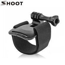 לירות שחור רצועת יד לgopro גיבור 7 8 6 5 שחור מושב Xiaomi יי 4K SJCAM SJ4000 יד רצועת הר ללכת פרו 7 5 מצלמת אבזר