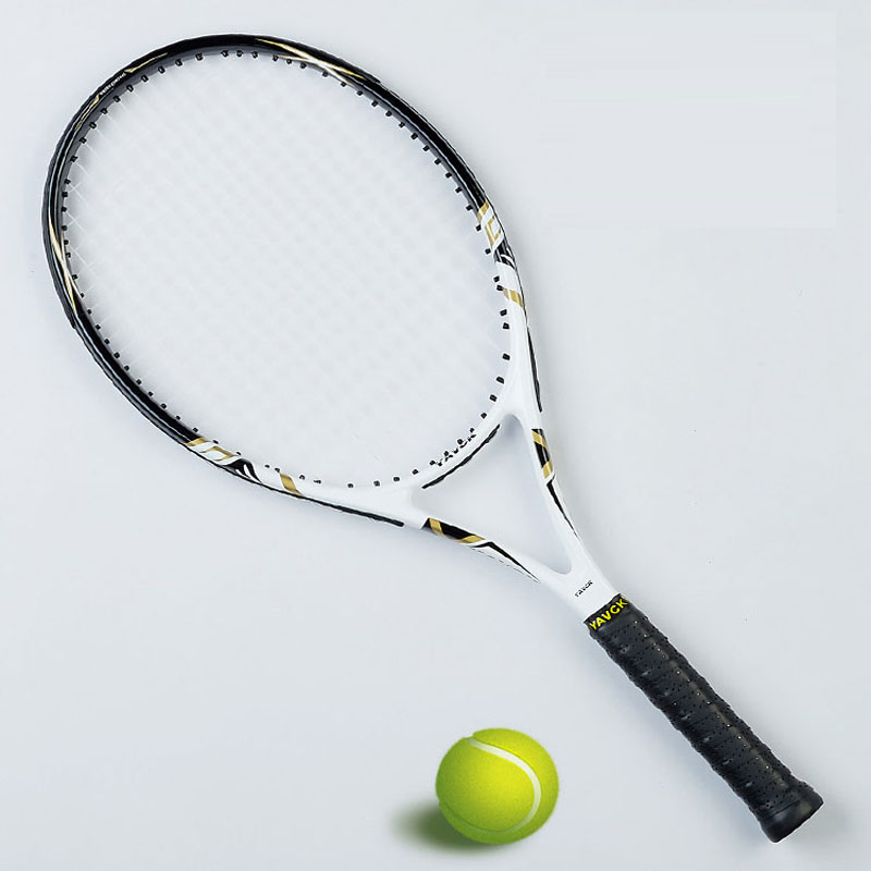 Carbon Fiber Tennis Racket Men Tennis Racquet With Strung Bag Grip Size 4 1/4 Raqueta Tenis Padel Racket Masculino Tenis Carbon