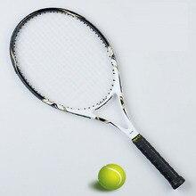 Теннисная ракетка из углеродного волокна Мужская теннисная ракетка с натянутой сумкой Размер 4 1/4 ракета Tenis ракетки для бадминтона Masculino Tenis Carbon