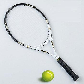 Raquete de tênis de fibra de carbono homem raquete de tênis com saco strung aperto tamanho 4 1/4 raqueta tenis padel raquete masculino tenis carbono