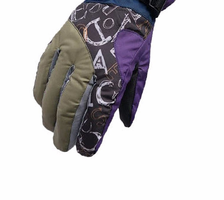 2017 Top Quality New Brand Men's Ski Gloves Snowboard Snowmobile Motorcycle Riding Winter Gloves Windproof Waterproof Snow Glove 16