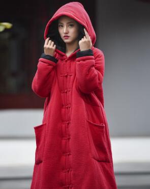 Red Couleur Assistant Feminino Noir Manteau Longues Casaco Solide multi Femmes Manches Manteaux rouge Am090 Automne Capuchon Hiver Tendance À Capuche Z7qxT1z