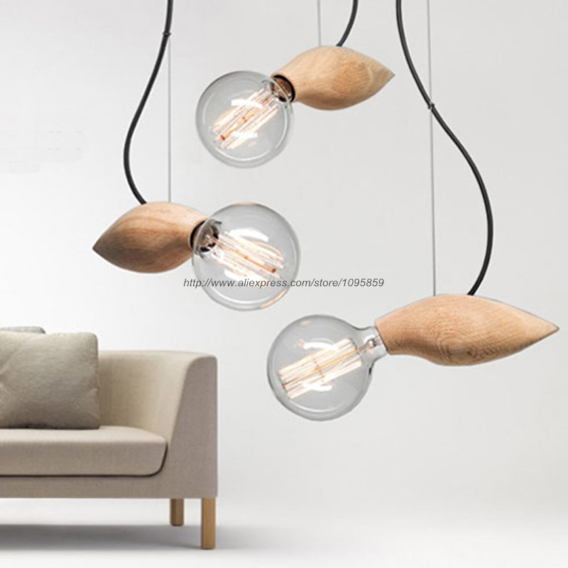Free shipping modern nordic style mango pendant light lamp for Hanging light fixtures for dining room
