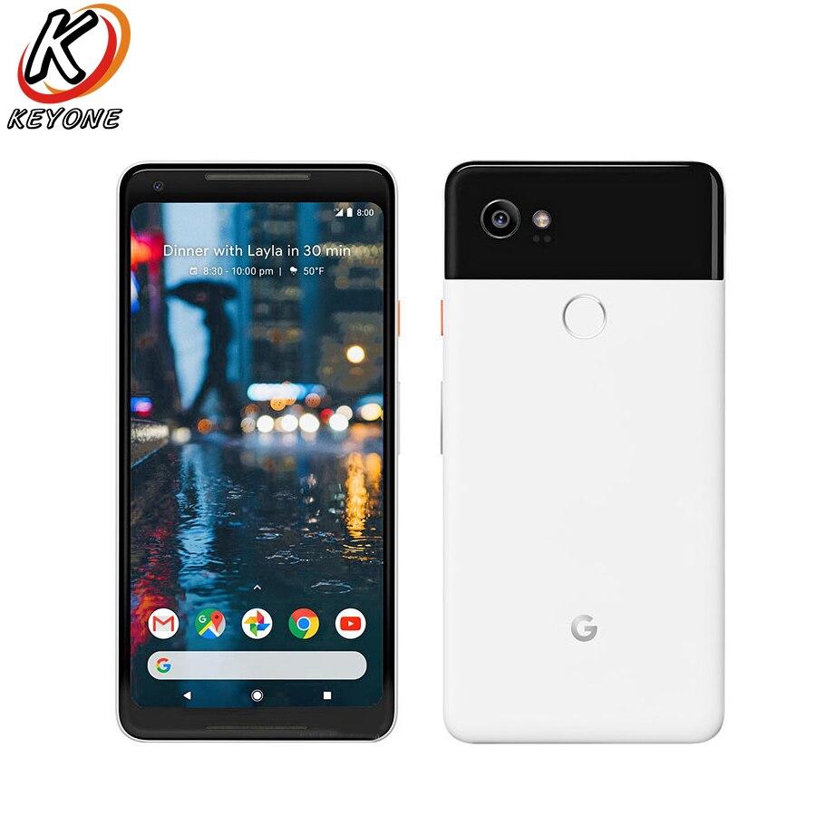 """Новая версия США Google Pixel 2 XL 4G LTE мобильный телефон 6,0 """"4G B Оперативная память 6 4G B/128 ГБ Встроенная память Snapdragon 835 Восьмиядерный Android телефона"""