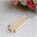 2016 Dedicated  indentations eye pen Fimo clay pottery sculpture tools DIY manual Square 4pcs/set
