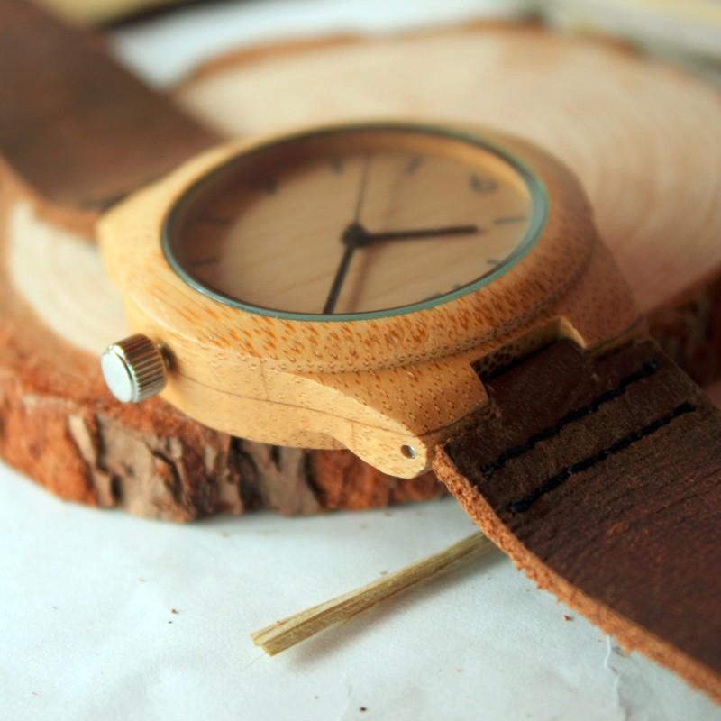 37mm BOBO BIRD Top Luxury Brand Watches Women Bamboo Watches (2)
