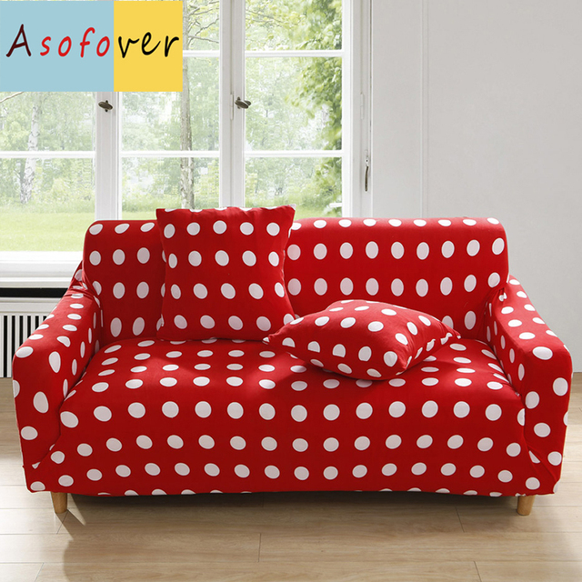Charmant Red Sofa Cover Elastic Couch Covers For Sofas Covers For Living Room Funda  Sofa Protector Sofa
