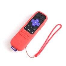 SIKAI Remote Case For Roku Streaming Stick+ Remote Case Silicone Protective Cover For ROKU Enhanced Voice Remote Original CASE