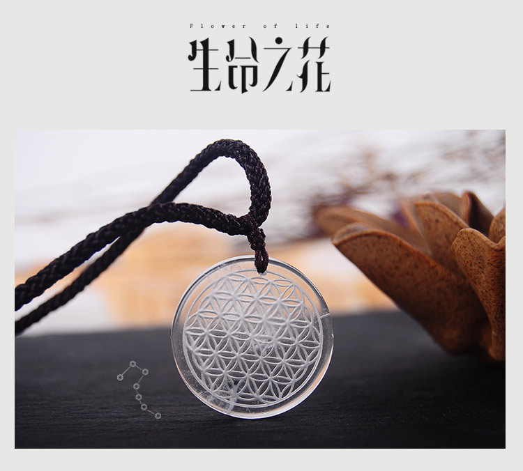 35mm High Quality Natural Stone Quartz Crystal Pendant Flower Of Life Pendulum Pendants Chakra Suspension Healing With Rope 2017 ayliss fashion 1pc chakra gem stone tree of life wire wrapped natural clear quartz healing crystal point pendant necklace