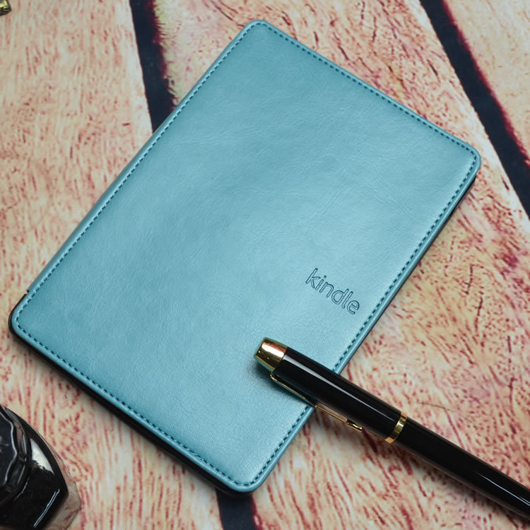 Magnet Closure PU Leather Cover Case for Amazon Kindle 4 / Kindle 5 Ebook Reader 8 Colors in Stock