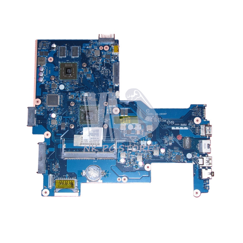 764269-501 Main board For HP 15-G Notebook PC Motherboard System board 764269-001 ZSO51 LA-A996P A8-6410 Discrete Graphics 815248 501 main board for hp 15 ac 15 ac505tu sr29h laptop motherboard abq52 la c811p uma celeron n3050 cpu 1 6 ghz ddr3