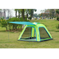 New arrival!Large space sun canopy 5 8persons outdoor camping travel family tent in good quality
