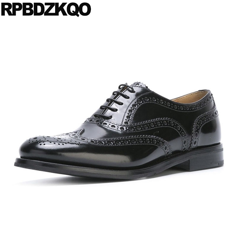 Rivet Metal Vintage Women Oxfords Shoes Spring Autumn Black British Style Brogue Lace Up Stud Flats Patent Leather Genuine Derby spring autumn women flats oxford derby brogue pu patent leather square toe lace up vintage sexy casual dress office ladies shoes