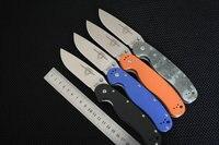 TRSKT RAT 1 Tactical Folding Knife Pocket Knives AUS 8 Steel Blade G10 Handle Camping Hunting