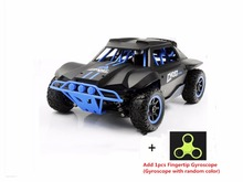 Racing RC car 2.4G 4WD Shocking proof 1:18 30KM/H high speed short-course off road monster remote control truck toy vs A979 a959