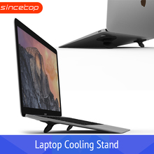 Laptop Stand Portable Cooling Pad For MacBook Laptop Notebook Cool Bracket Heat Dissipation Skidproof Pad Cooler Stand цена