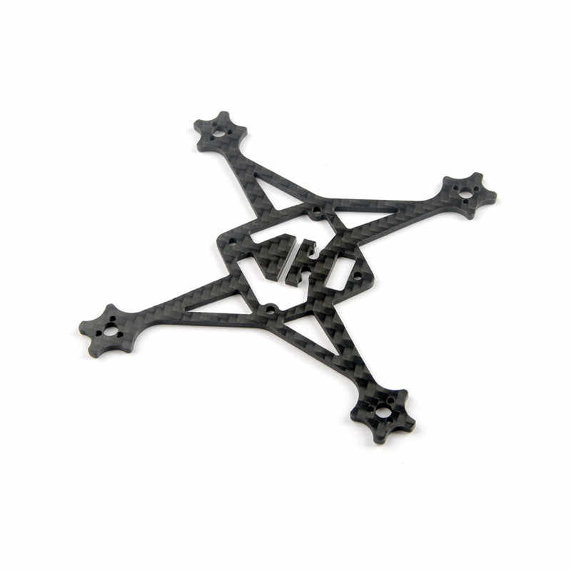 Eachine RedDevil 105mm FPV Racing Drone marco piezas de repuesto 2mm fibra de carbono placa inferior