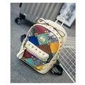 Women Sequined Backpack Fashion Female Top-handle Travelling Bags PU Leather Bagpacks Youth School Bag Mochila Feminina female