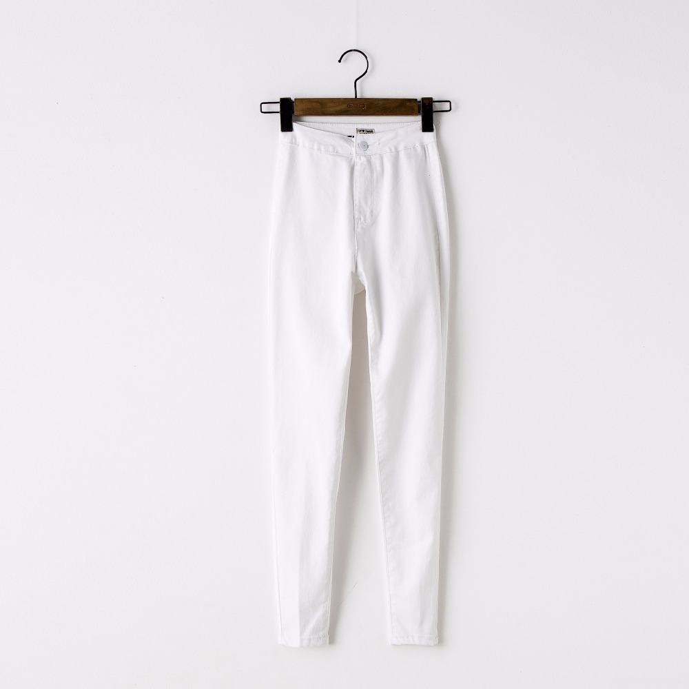 Popular White Jeans Woman-Buy Cheap White Jeans Woman lots from ...