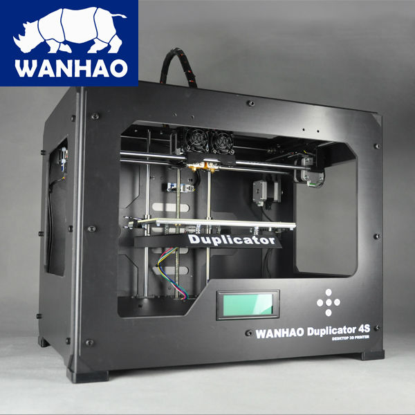 2016 upgraded D4S double extruder auto leveling high performance and accuracy fed with 1.75mm PLA filaments WANHAO manufactured high precision wanhao i3 printer with mk10 extruder for 1 75mm pla and abs filaments