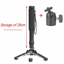 "158cm Skilled DSLR Unipod Monopod with three Legs Toes Stand Base three/eight""Adapter for Canon Nikon Sony Cameras Free cellphone clip"
