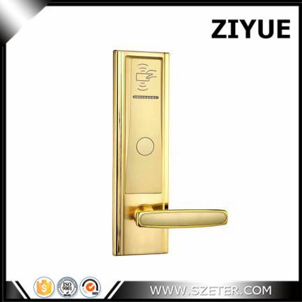 Discount Electronic Smart  Zinc Alloy Digi Lock Hotel  AND Card Electronic lock for hotel door   ET821RF digital electric best rfid hotel electronic door lock for flat apartment