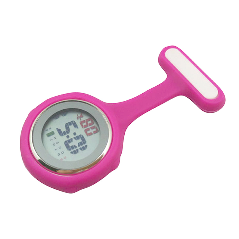 Digitalne ženske medicinske sestre ure FOB Ure Alarm Ozadje Luč - Žepne ure