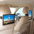 1 pcs carro sistema de entretenimento de volta, 10.1 polegada tela de toque Android 4.0 digital encosto de cabeça tft lcd
