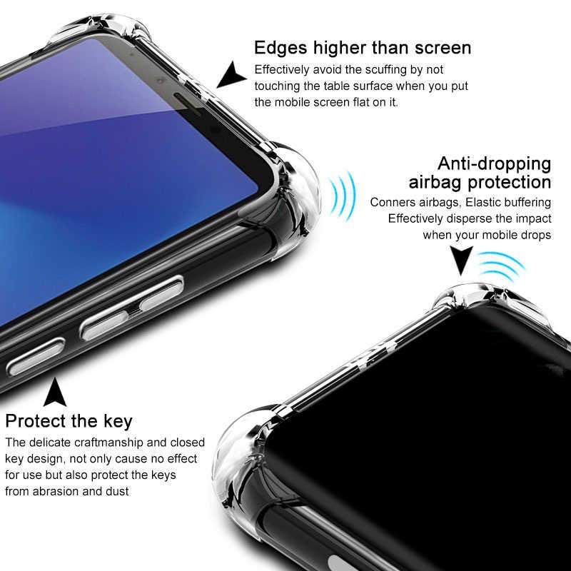 For Samsung A10 A10e A20e A30 A40s A50 A70 A80 A90 M10 M20 M30 M40 S10e S10 A6 A8 Plus A7 A9 2018 Airbags Case Clear TPU Cover