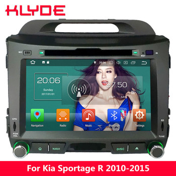 """KLYDE 8"""" Octa Core PX5 Android 8.0 4G WIFI 4GB RAM 32GB ROM BT Car DVD Player Radio GPS Navigation For Kia Sportage R 2010-2015"""