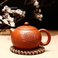 WIZAMONY 240CC Yeni Mor Kil şakayık Zisha Seramik Sanatları xishi Demlik Porselen yixing Kil Çin Çay Seti demlik