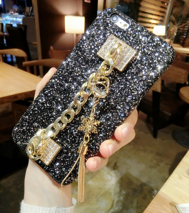 5ad3a1c46c6 TANZ Phone Cases for iPhone 6 6S X 6plus 6Splus 7 8 7plus 3D Bling ...