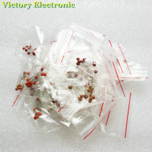 300PCS Ceramic capacitor 2PF-0.1UF,30 valuesX10pcs=300pcs,Electronic Components Package,ceramic capacitor Assorted Kit