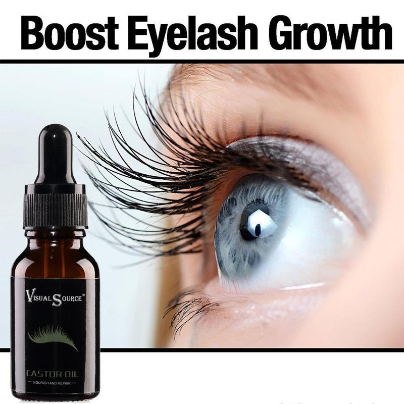 ac1ca1338a5 15ml Hair Essential Oil Natural Castor Oil Eyelashes Eyebrow Growth Prevent  Skin Aging Castor Oil Organic Serum