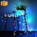 Маленький шар Светодиодная гирлянда RGB изменяемое праздничное освещение AC220V 4 м 40LED/10 м 100LED Рождественское украшение сказочные огни