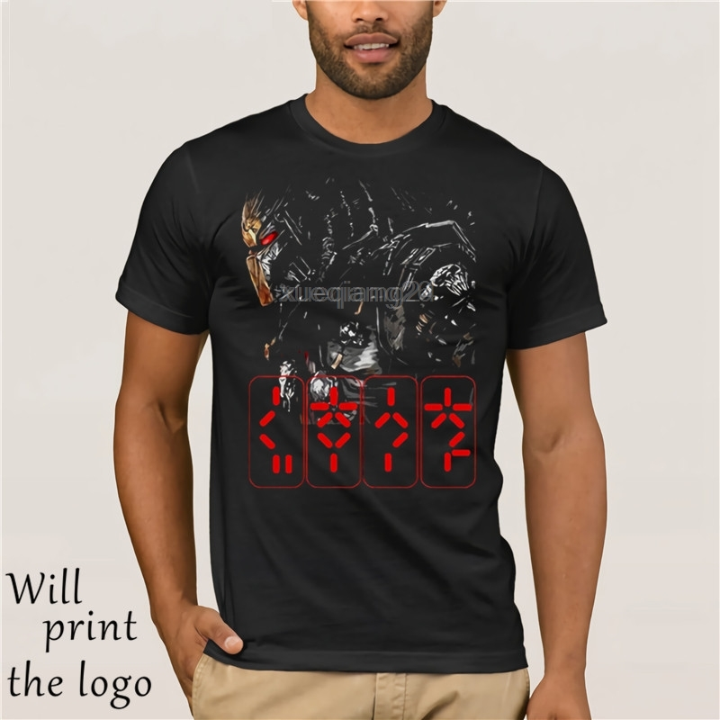 New Predator Horror Thriller Movie Black T-shirt Size S-3XL Fashion print cotton Free Shipping T-shirt image