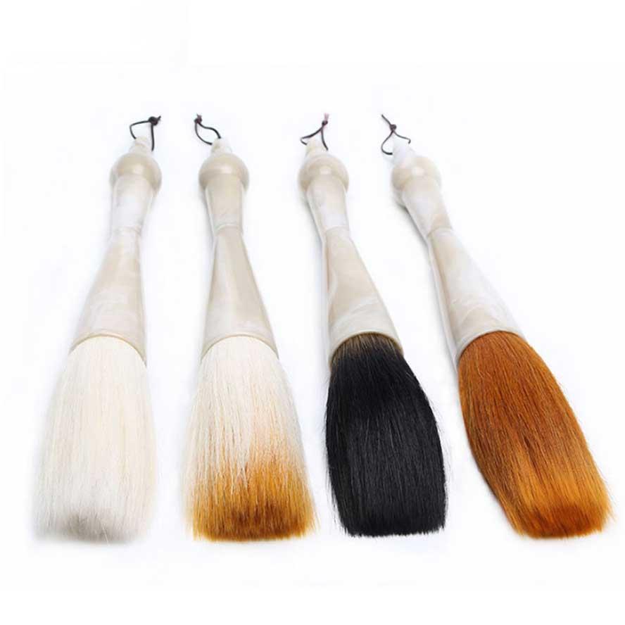 urso lã mista cabelo funil-em forma de