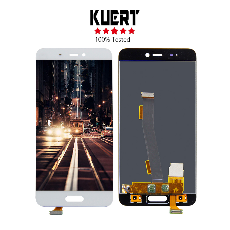 Free Shipping For Xiaomi 5 Mi5 Touch Screen Digitizer LCD Display Assembly Replacement For Mi 5 LCD