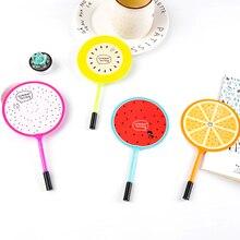 Милый вентилятор в форме фрукта канцелярские принадлежности для творчества ручка первичные призы детям награда подарок шариковая ручка