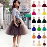 26 Vintage Hochzeit Petticoat 50s Retro Unterrock Schaukel Rockabilly Fancy Net Tutu Rock