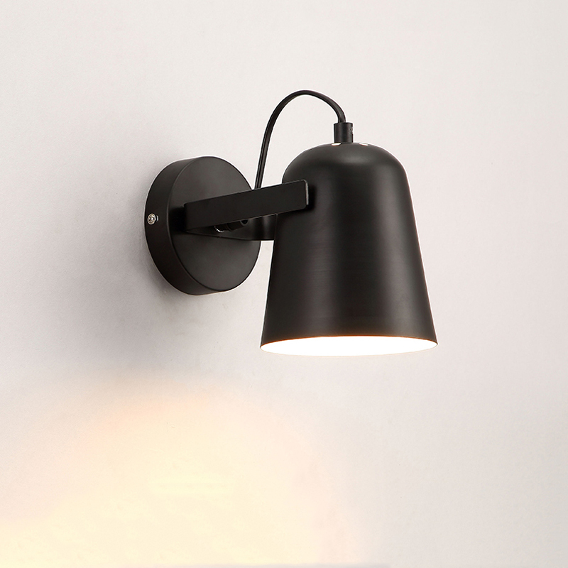 Nordic minimalist creative wall lamp staircase corridor balcony bedroom bedside wall light wall sconce modern light bra