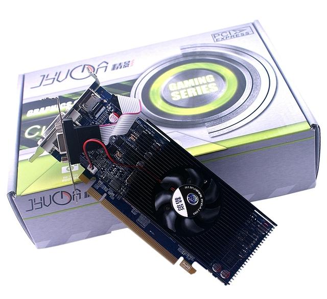 Máquina de filme de R7 250 LP HTPC placa gráfica 2GD5 alta freqüência metade da lâmina