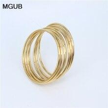 MGUB Stainless Steel Jewelry Bracelet Simple and elegant 7pcs women's bracelet  fashionable women's jewelry LH217