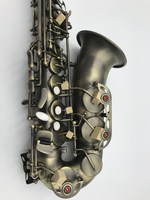 Eb Alto Saxophone Music Instrument Antique Copper Material New Alto Sax Super Play Professional Accessories With