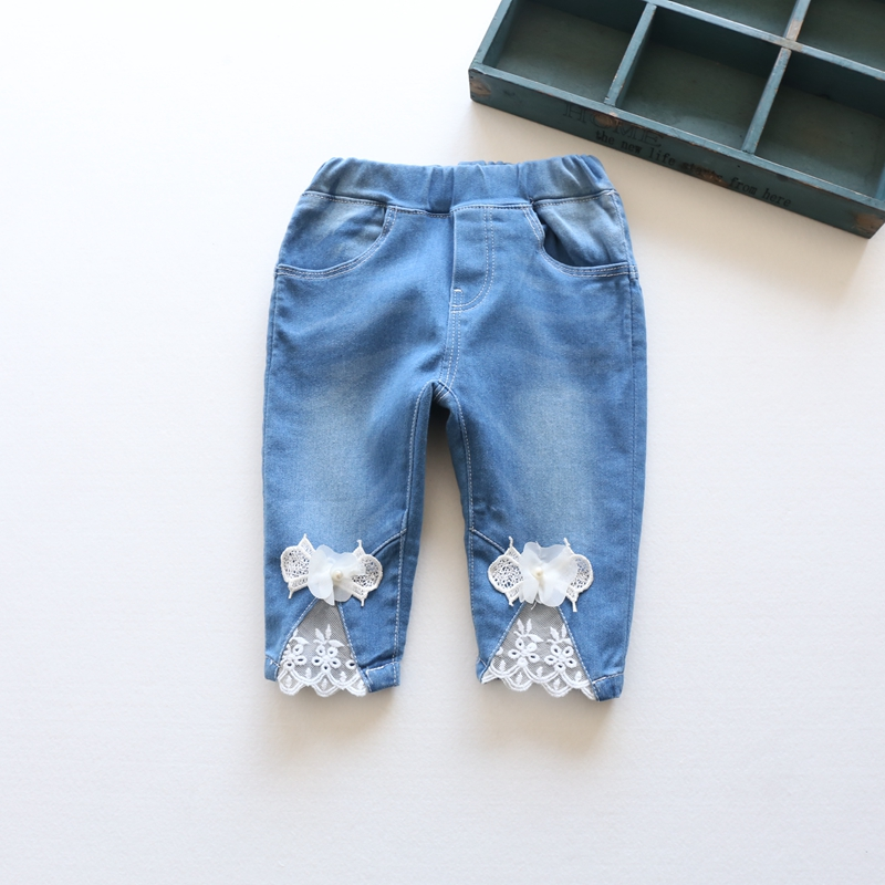 Popular Kids Girl Jean Capri-Buy Cheap Kids Girl Jean Capri lots ...